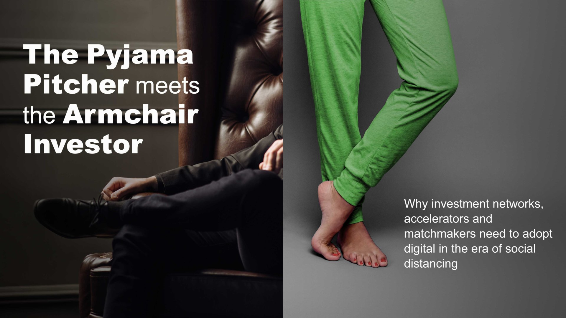 Pyjama PItcher Meets Armchair Investor